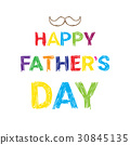 Happy Father Day Family Holiday, Greeting Card 30845135