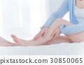 年輕女性,足部護理,足部按摩 30850065