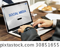 Social Media Networking Online Technology 30851655