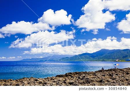 美麗的海岸風景 30854840