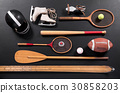 Vintage sports equipment 30858203