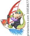 性格開朗的鱷魚 - 坤 30858677