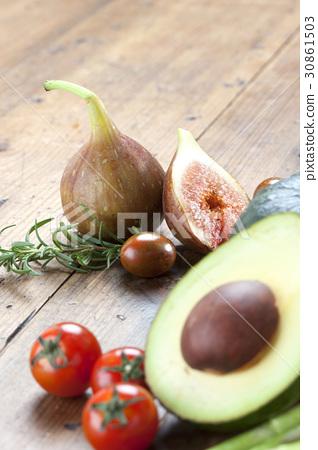 단호박,아보카도,무화과,방울토마토,대추토마토,로즈메리 30861503