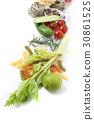 라임,푸질리,로즈메리,스낵오이,방울토마토,통후추,탈리아텔레 30861525