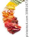 미니파프리카,방울토마토,당근,자몽,레몬,파프리카,아스파라거스,오이 30861673