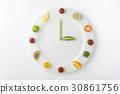 과일, 시계, 웰빙 30861756