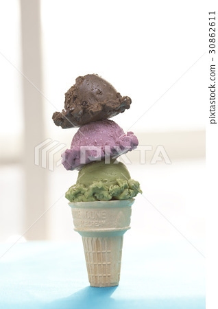 冰淇淋 夏天 食品 30862611