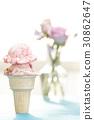 花瓶 累積 冰淇淋 30862647