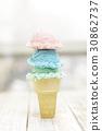 累積 冰淇淋 夏天 30862737