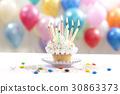 생일케이크, 생일파티, 초 30863373