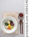 나물, 비빔밥, 상차림 30864246