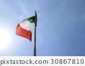 Italy flag Italian 30867810
