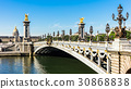 Pont Alexandre III Bridge with Hotel des Invalides 30868838