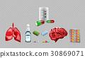 vector red medicine 30869071