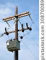 electricity pole 30870089