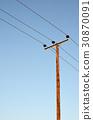 electricity pole 30870091