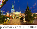 Christmas Market on the Red Square, Moscow, Russia 30873840