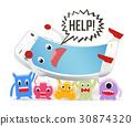 病毒 智能手機 手機 30874320
