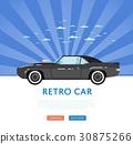 经典 古典 汽车 30875266
