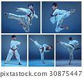 kids, martial, karate 30875447