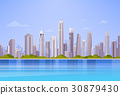 City Skyscraper View Cityscape Background Skyline 30879430