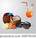 椰子 飲料 喝 30879558
