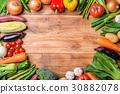 蔬菜 蔬菜簇 类型 30882078