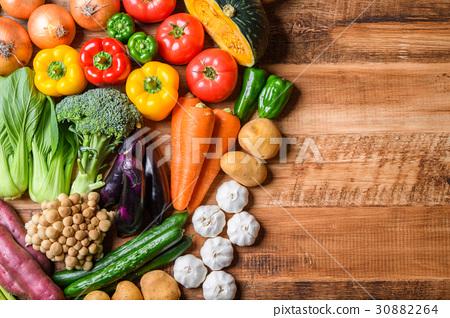 蔬菜 蔬菜簇 几种 30882264