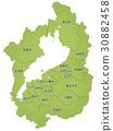 shiga prefecture, shiga, map 30882458