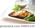 righteye flounder, teriyaki, fish cuisine 30893144