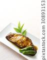 righteye flounder, teriyaki, fish cuisine 30893153