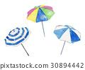 beach, umbrella, parasol 30894442