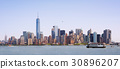 Skyline of New York City, USA. 30896207