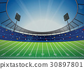 American Football Stadium Arena 30897801