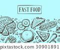 fast, food, vector 30901891