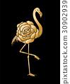 cute flamingo graphic 30902939