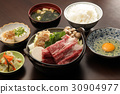 Japanese set meal 30904977