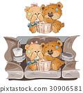teddy, vector, couple 30906581