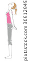 stretching, female, females 30912945