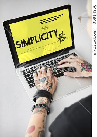 Simplicity Minimal Design Modern Normal 30914800