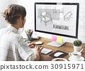 armchair, draft, furniture 30915971