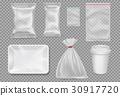 vector plastic pack 30917720