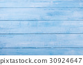 Blue wooden background High resolution. Copy space 30924647