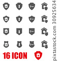 security, icon, home 30925634