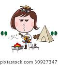 營地 露營 女性 30927347
