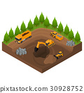 建造 建设 采石场 30928752
