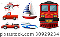 Different kinds of transportations 30929234