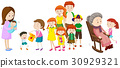 People at different ages in family 30929321