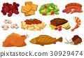 一组 一套 食物 30929474