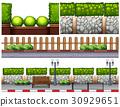 Different design for fences 30929651